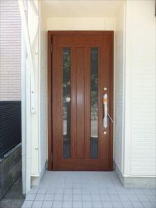 上池田貸家 玄関ドア.JPG